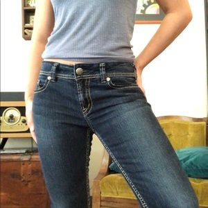 Silver Suki Slim Skinny Jeans